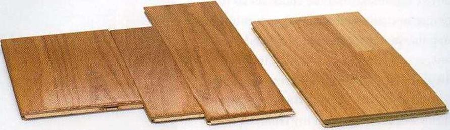 Wood and plastic laminate floorings are very durable
