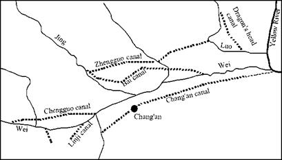 Development of the historic heart of China