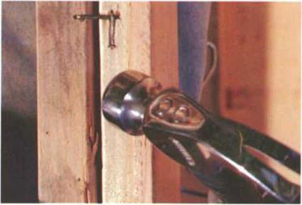 Setting window and door trimmers