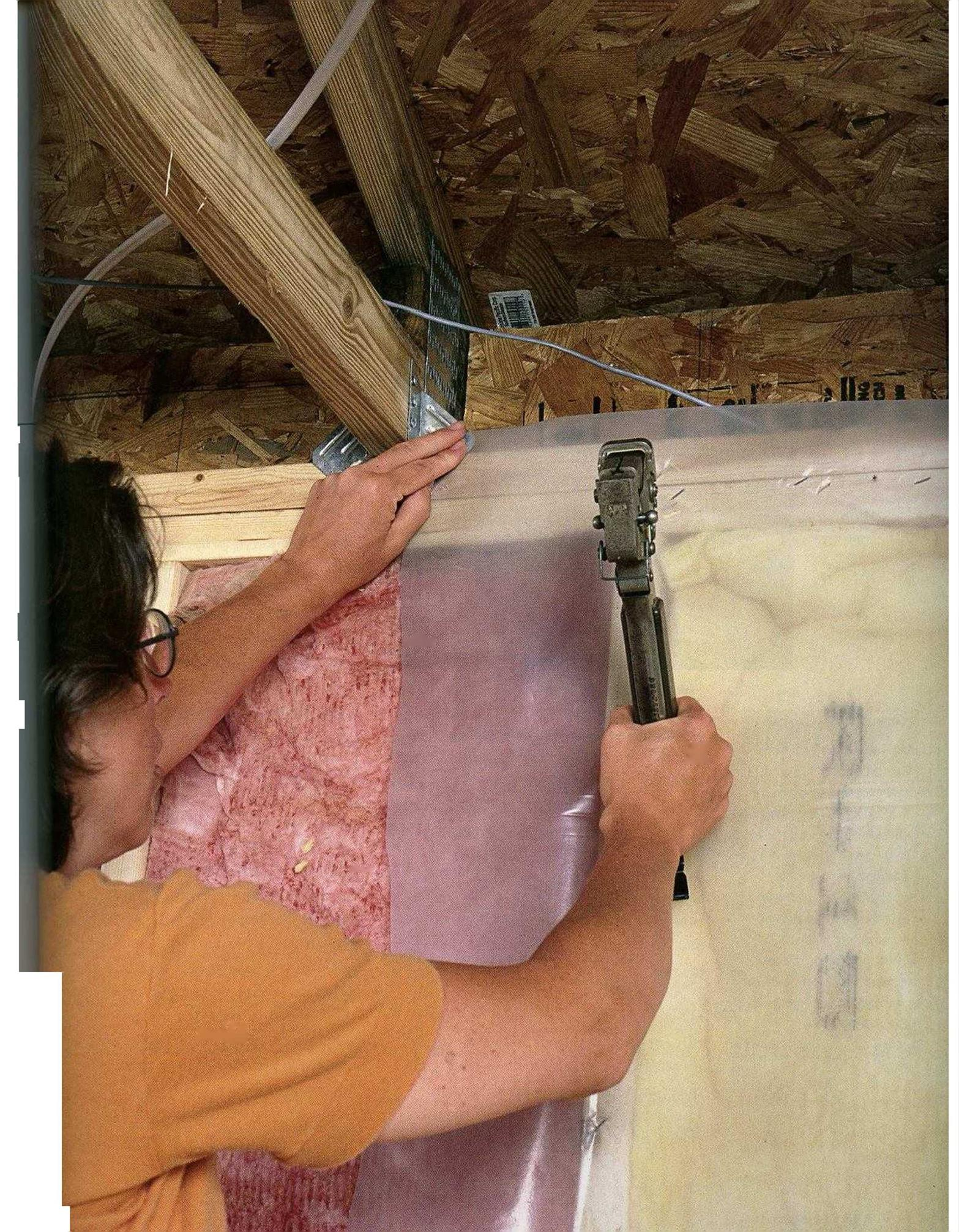 Sealing, Insulating, and Ventilating a House