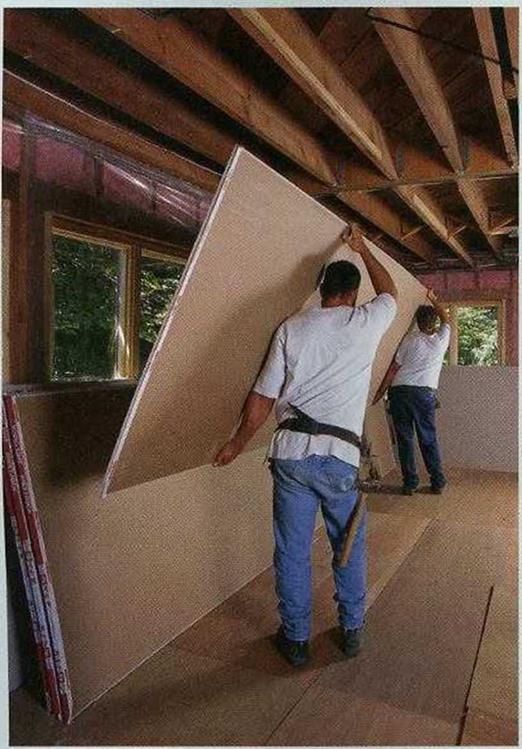 Ordering Drywall and Associated Supplies