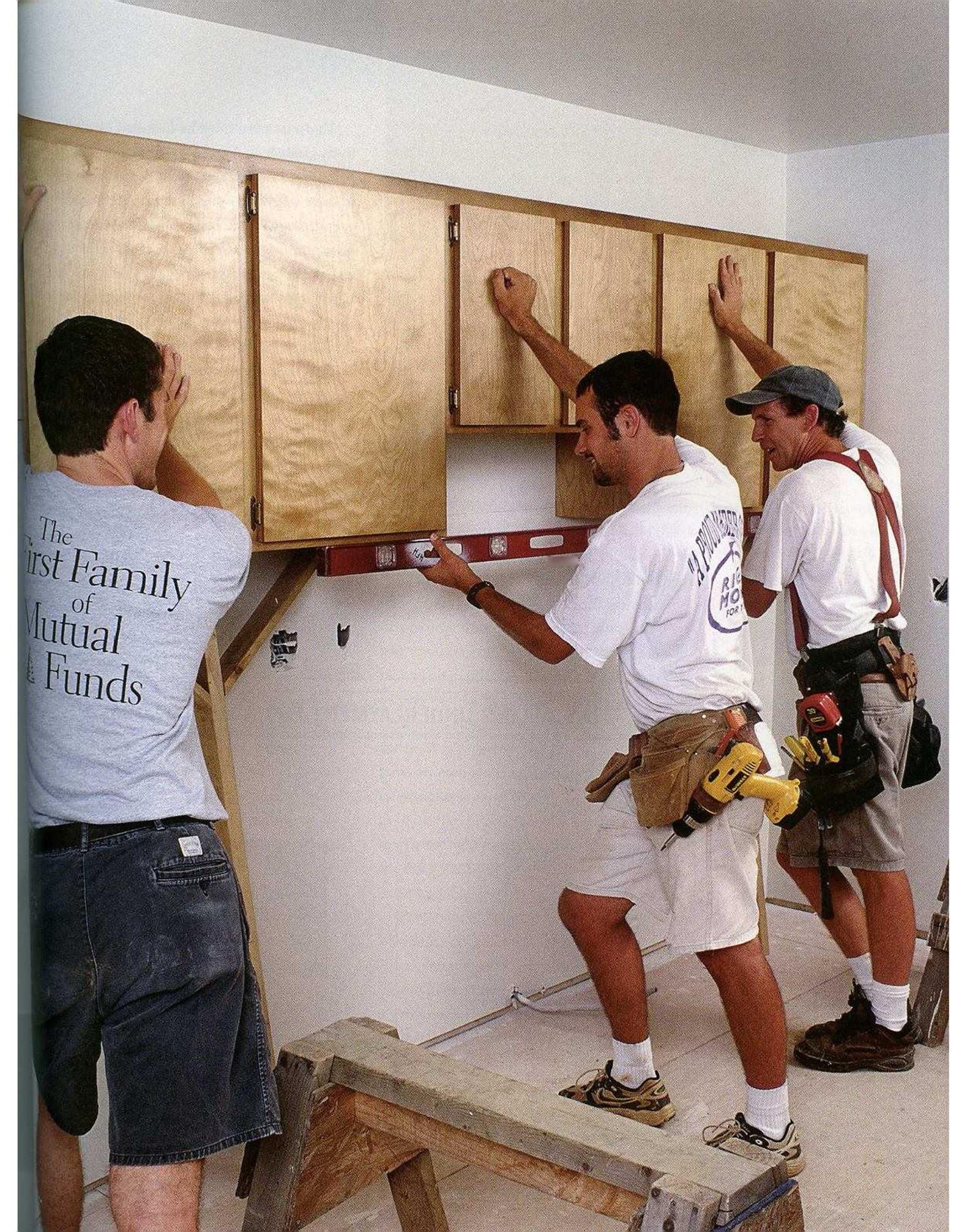 Interior Trim, Cabinets, Countertops, and Clost