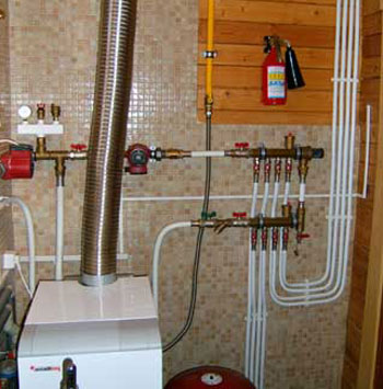 Independent system of a heat supply: safety