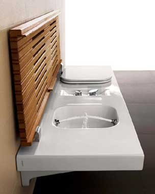 Esthetics of modern bathroom equipment