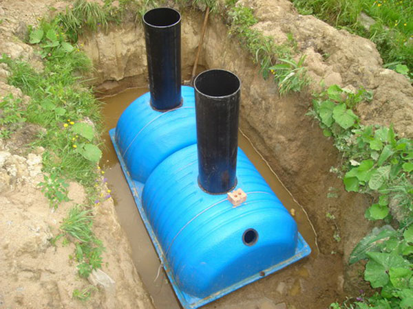 How not to be mistaken, choosing a septic tank