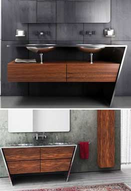 Sinks modern - options different