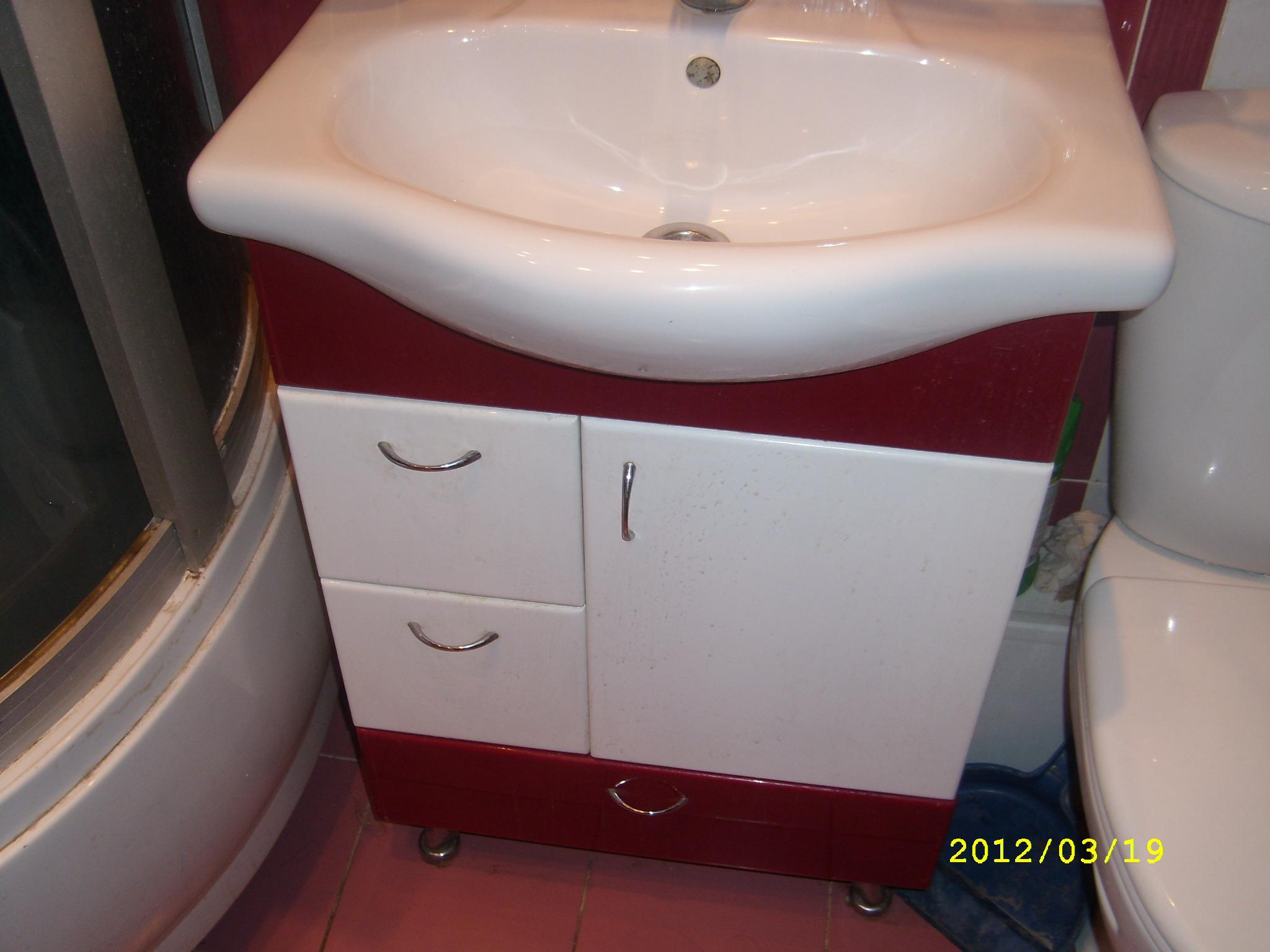 Varieties of Curbstones With Bathroom Sink