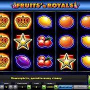 Аппарат Fruit Cocktail для игры на сайте казино Вулкан
